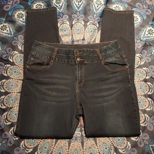 Mid-rise Stacked Jeggings